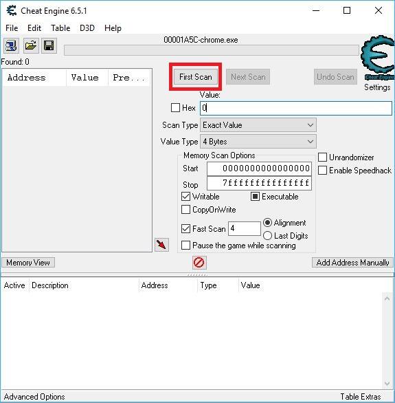 CheatEngine hack game chuyên nghiệp trên PC