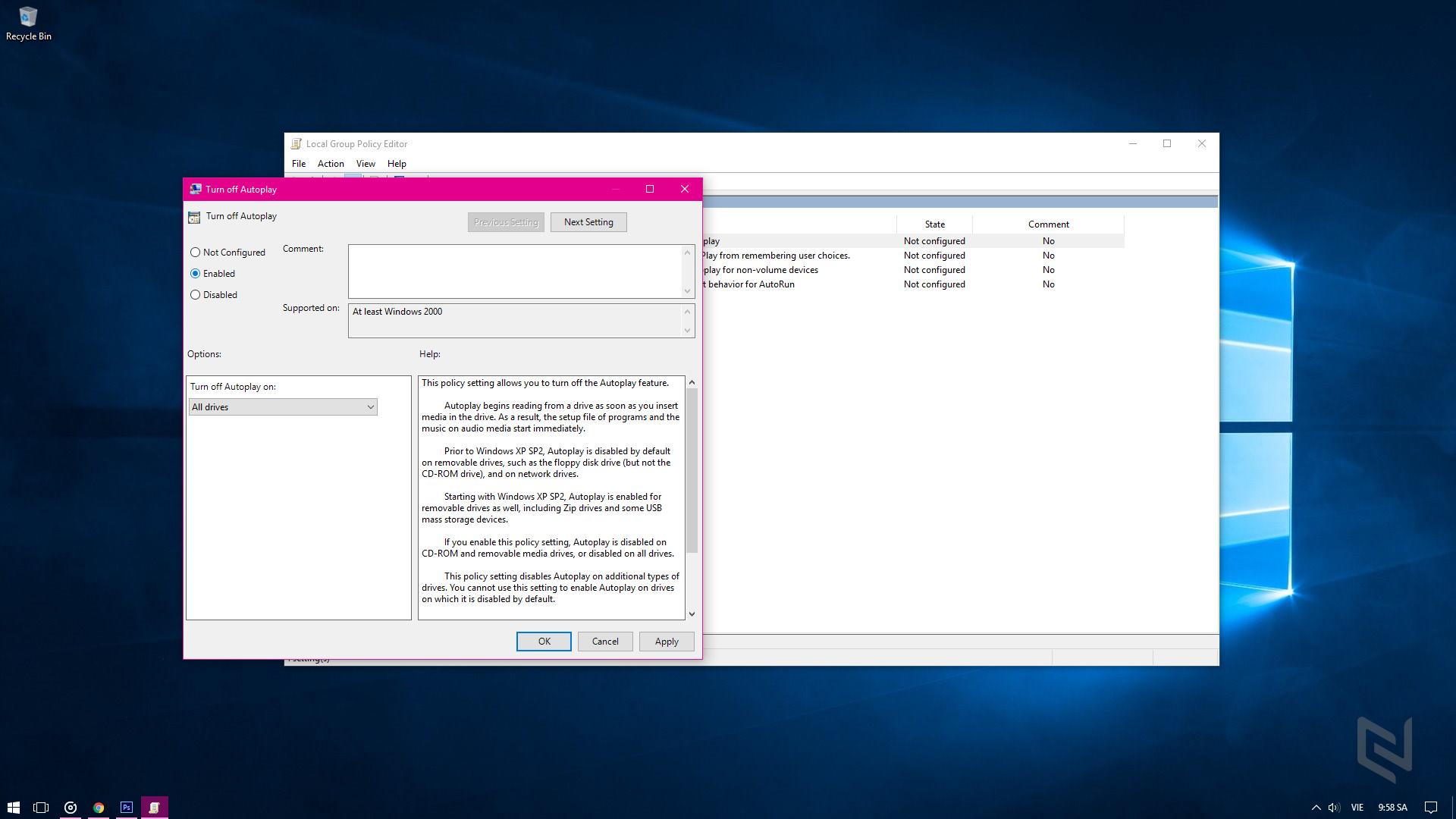Cách khoá tất cả các cổng USB trên máy tính giúp phòng lây nhiễm Virus