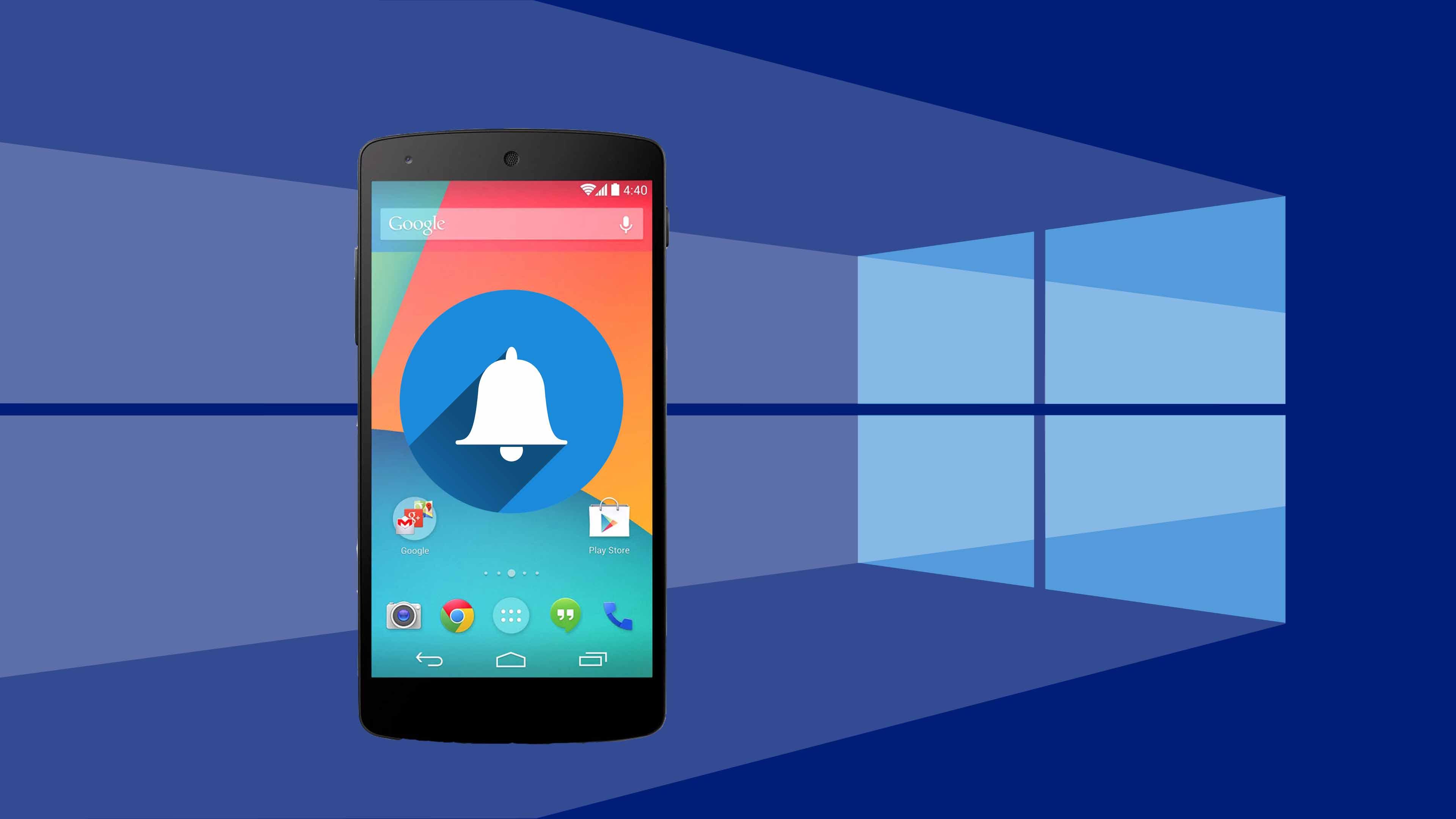 Đồng bộ thông báo Android với Windows 10 bằng Cortana
