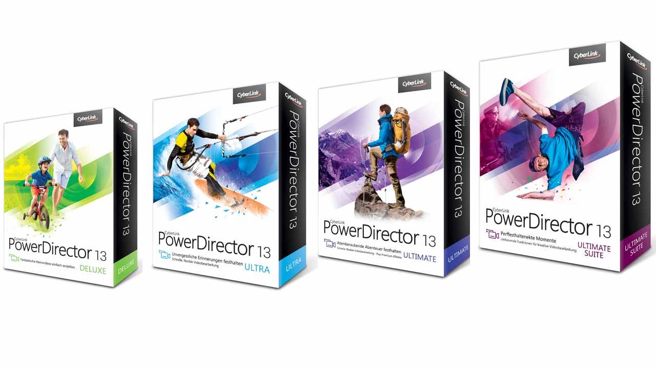 Mời tải miễn phí phần mềm CyberLink PowerDirector 13 Ultimate ($59.99)