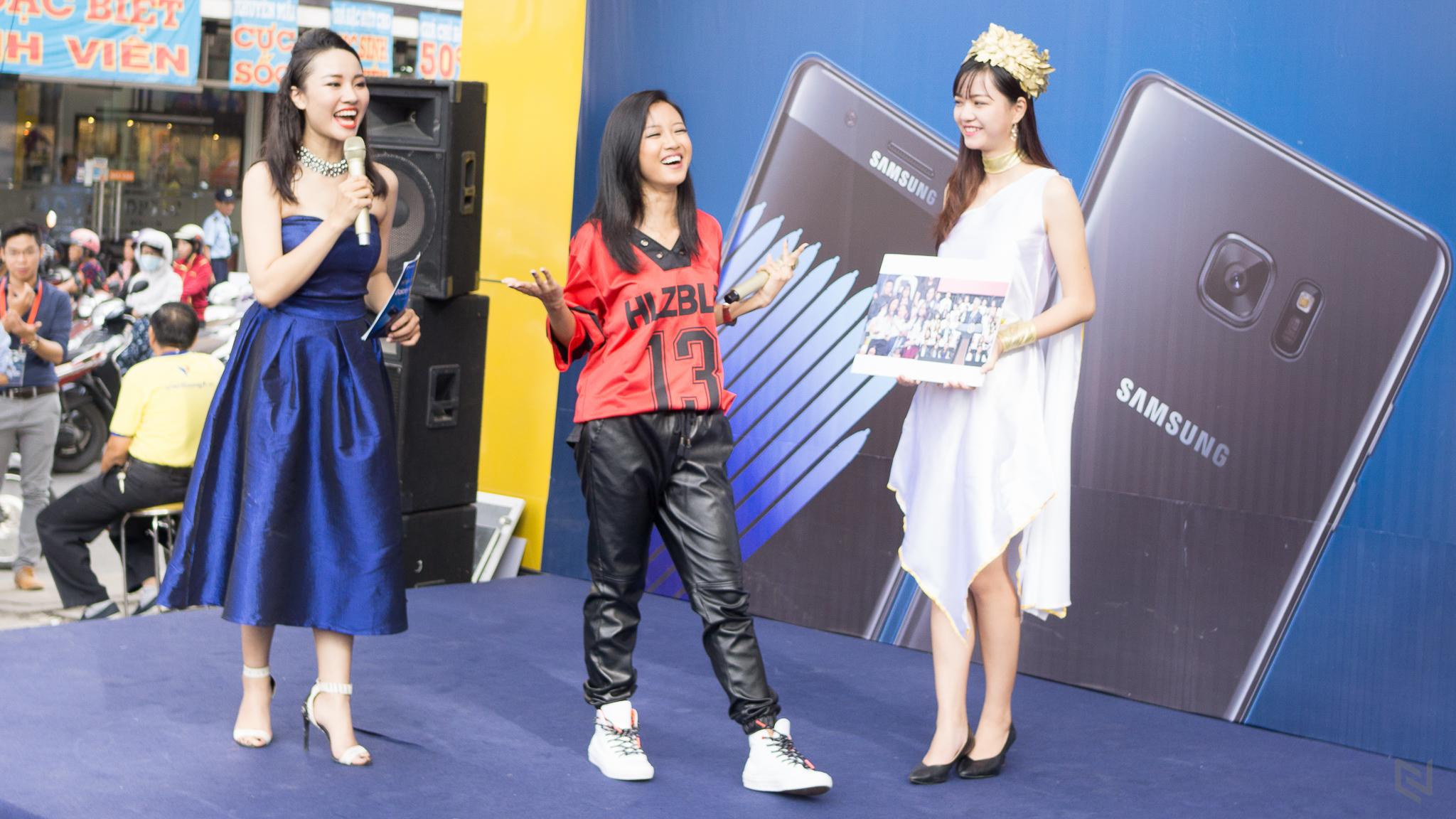 """VTA: Galaxy Note 7 có lượng đặt cọc và giao hàng """"khủng"""""""