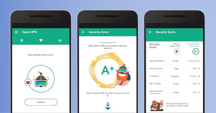 Ứng dụng Opera VPN phát hành miễn phí cho iOS/Android