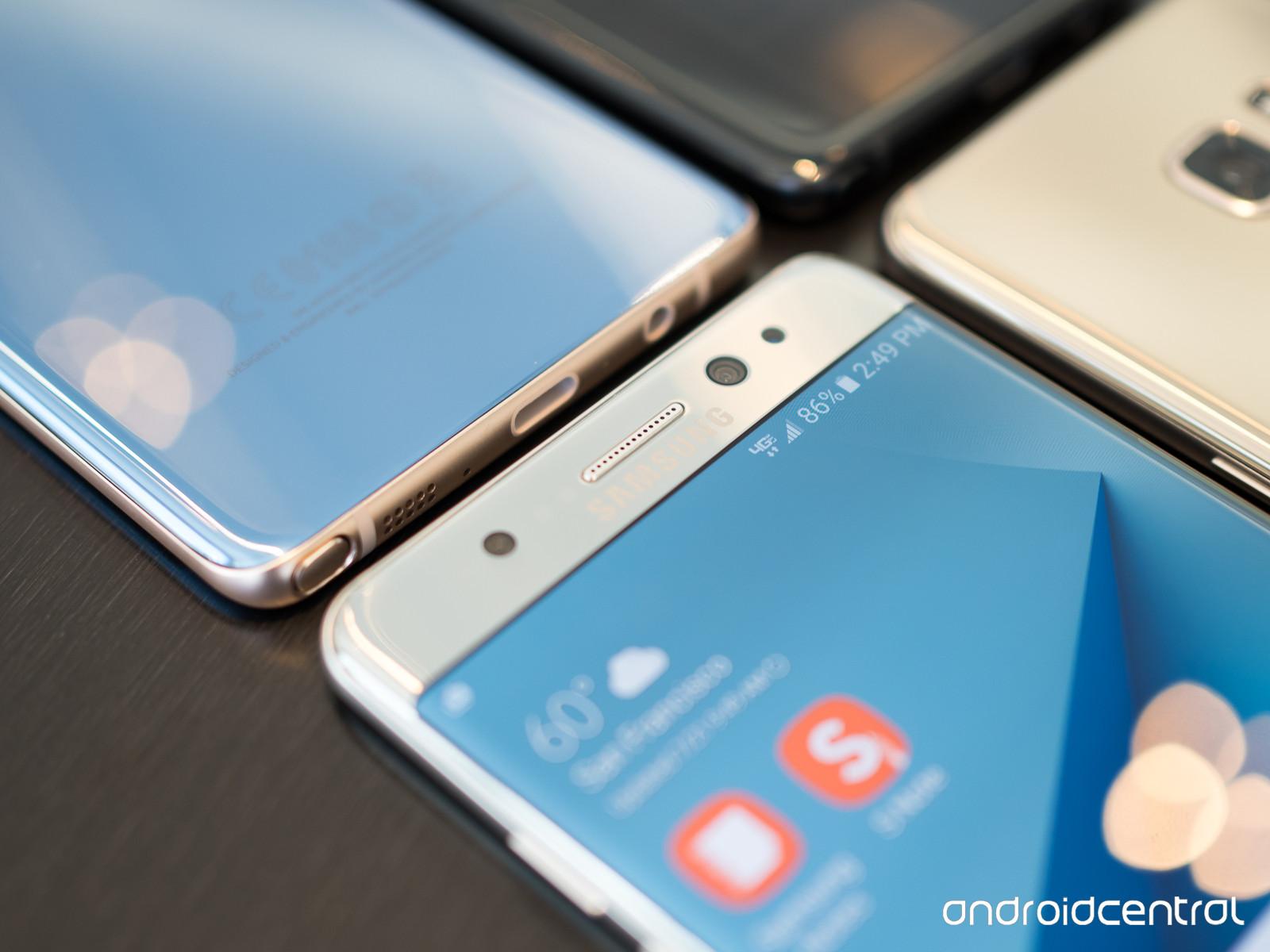 Galaxy Note 7 là smartphone đầu tiên trang bị kính Gorilla Glass 5