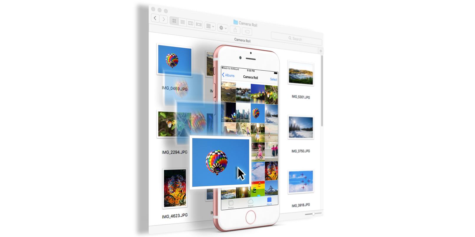 Airmount, giải pháp kết nối iPhone và máy Mac không cần cap hay internet