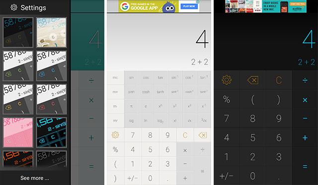 9 Ứng dụng Calculator (Máy tính) miễn phí cho Android
