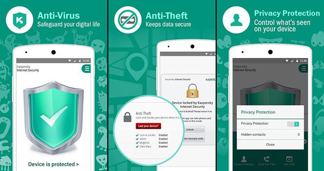Những ứng dụng bảo mật tuyệt vời cho smartphone Android