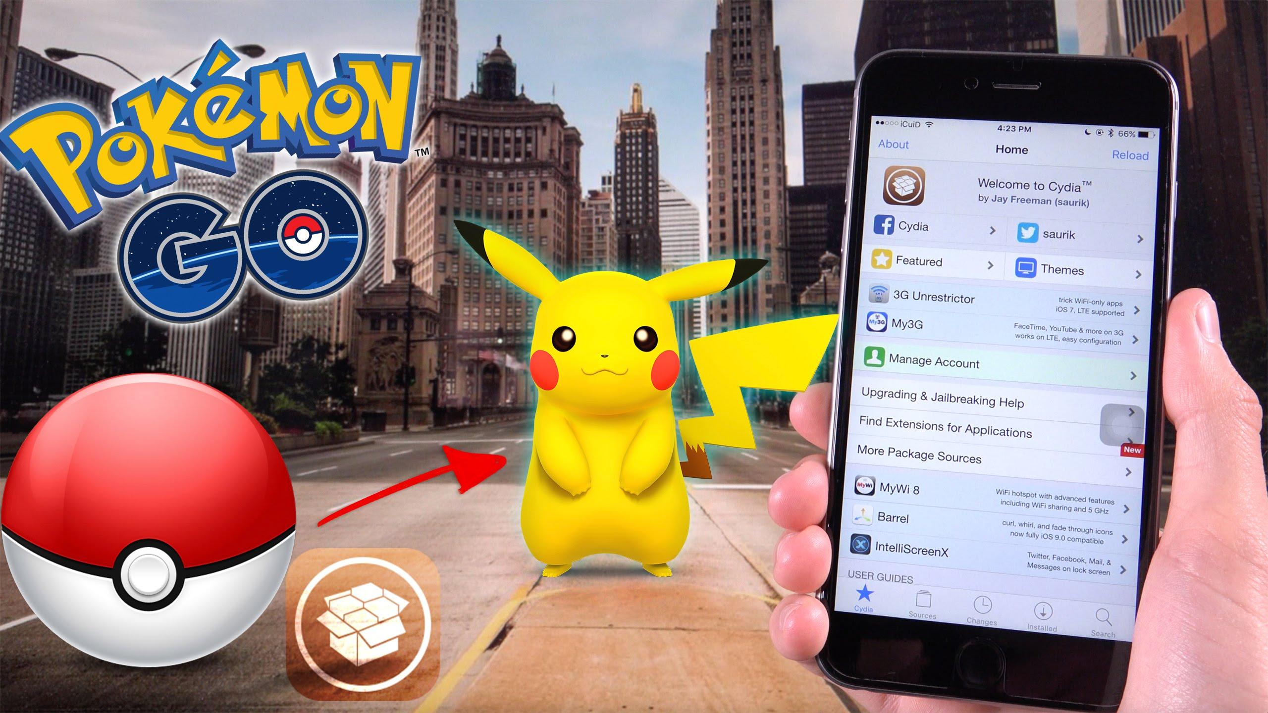 Khắc phục sự cố bị văng khi chơi Pokemon Go trên iPhone jailbreak