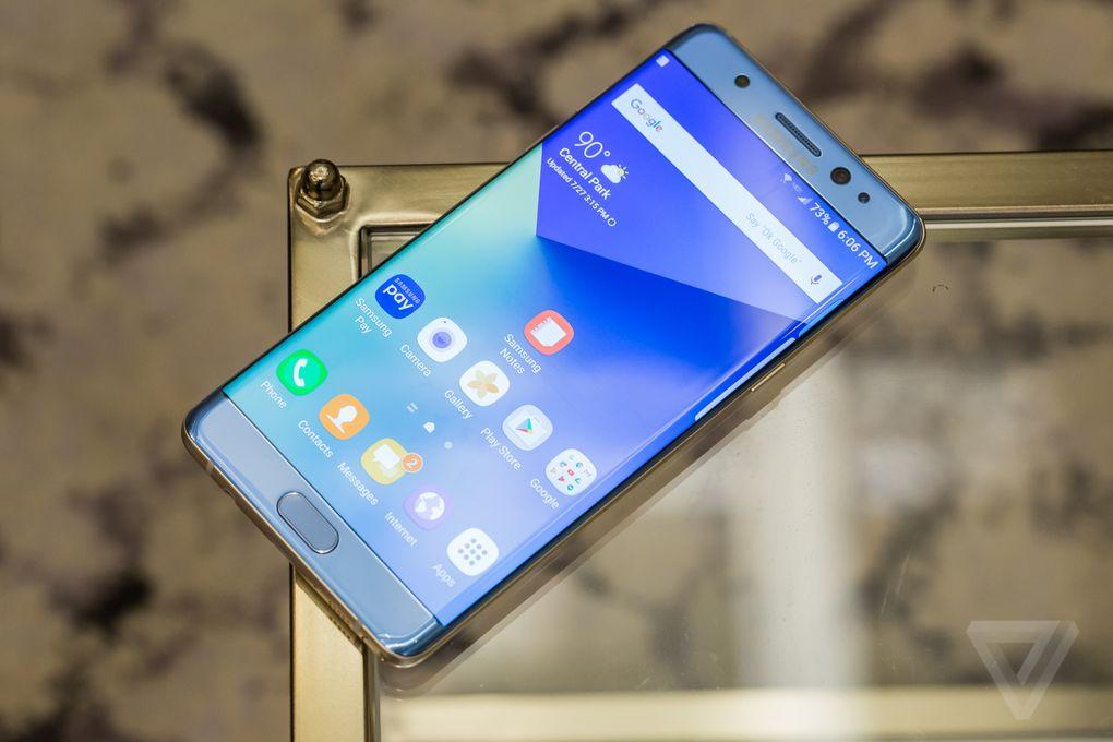 Samsung Galaxy Note 7 chính thức: Màn hình cong, Iris Scanner, bán ra 19/8