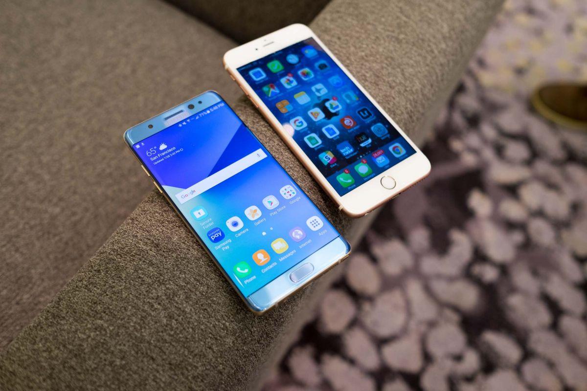 Cùng thả rơi Galaxy Note 7 và iPhone 6s bên nào sẽ chiến thắng ?