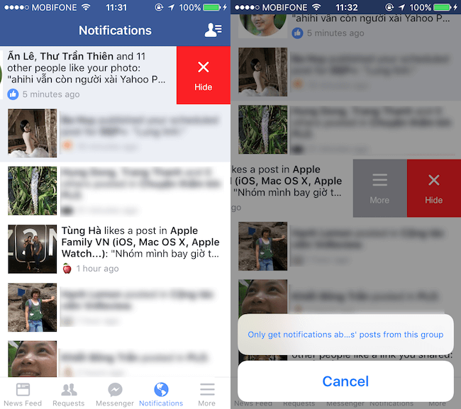 5 mẹo nhỏ tiện lợi người dùng Facebook trên iPhone nên biết