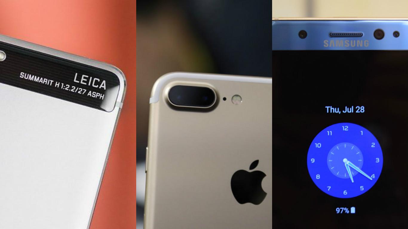 Xem thử ảnh chụp giữa Huawei P9, iPhone 7 Plus và Galaxy Note7