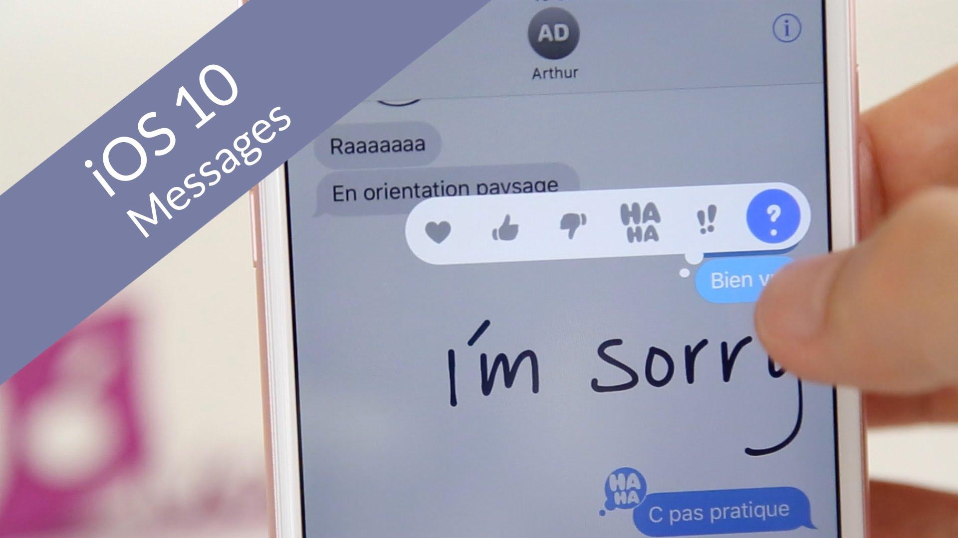 Tạo và gửi chữ viết tay trên iMessage của iOS 10