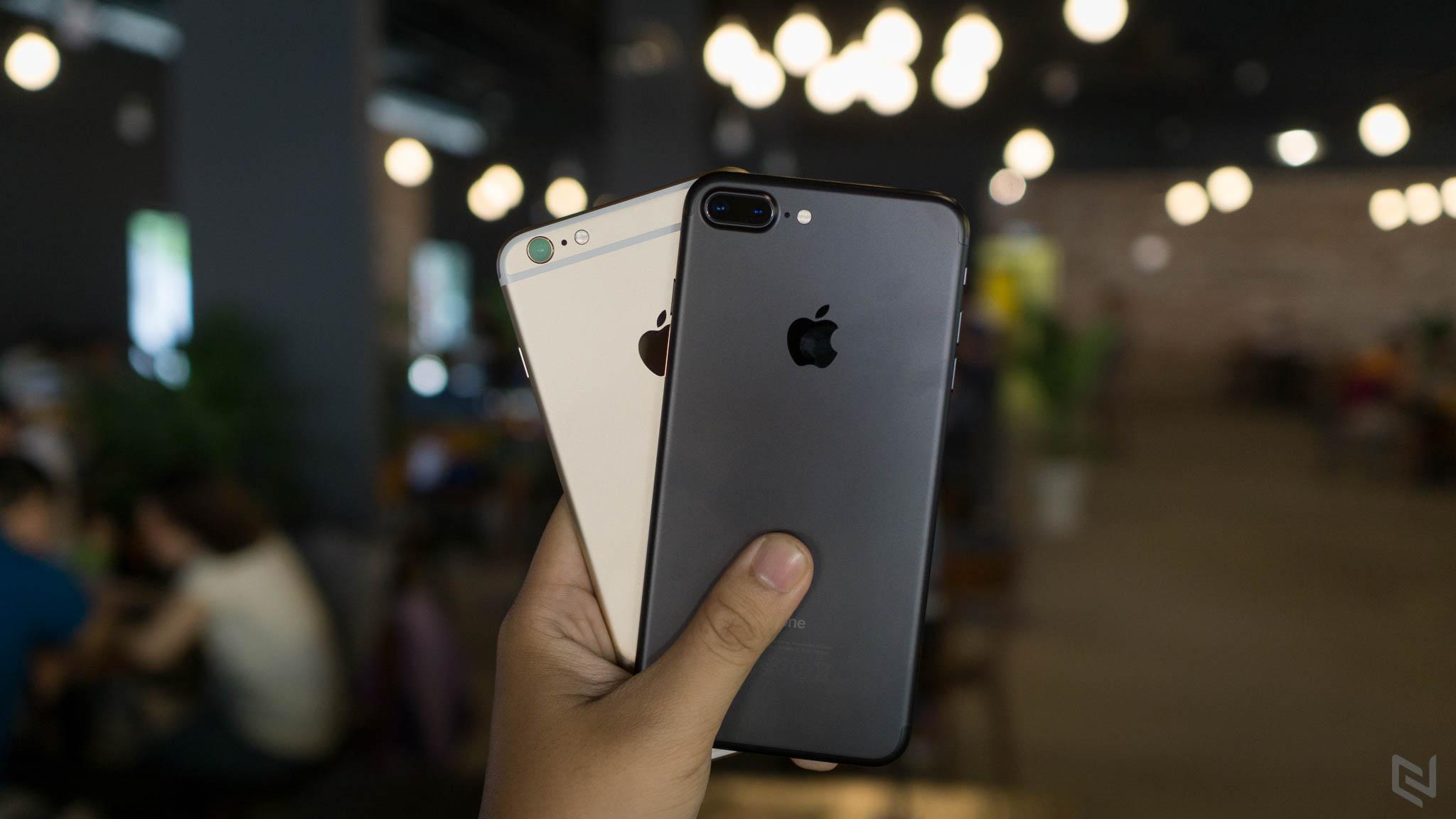 Có hai loại iPhone 7 Plus có tốc độ khác nhau
