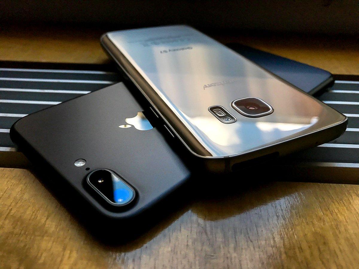 Camera iPhone 7 không bằng Samsung Galaxy S7