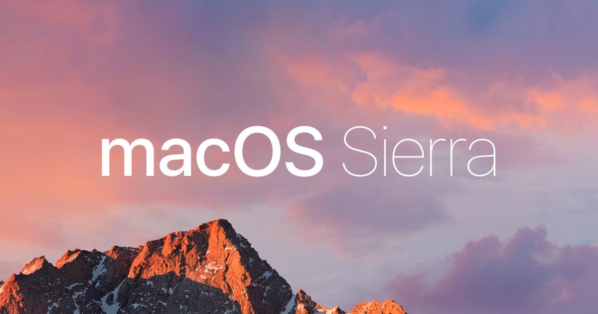 5 Lý do bạn nên cập nhật macOS Sierra ngay bây giờ