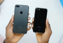Video mở hộp & so sánh iPhone 7 màu Jet Black và Mattle Black