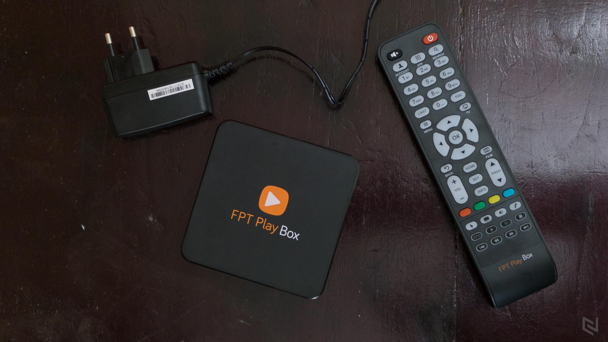 Trải nghiệm FPT Play Box (2016), biến TV thường thành Smart TV
