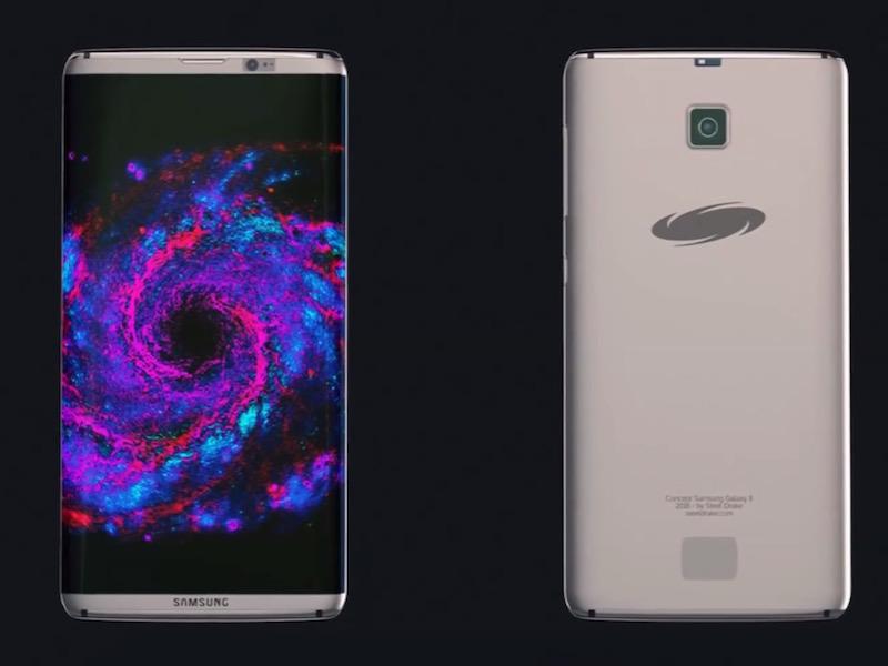 Galaxy S8 sẽ có thiết kế bóng bẩy, cải thiện camera, tăng cường AI