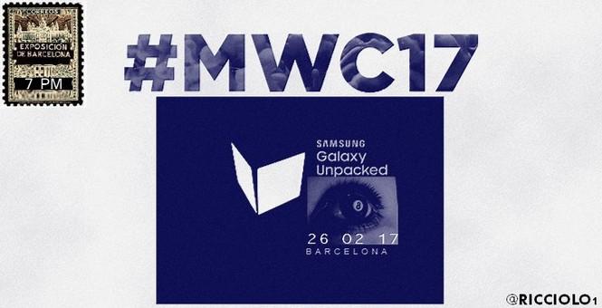Samsung Galaxy S8 ra mắt vào ngày 26/02/2017?