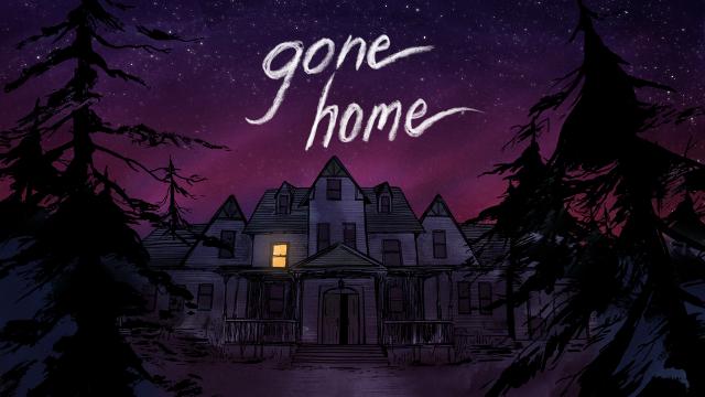 Trong Gone Home, người chơi sẽ vào vai Kaitlin Greenbriar, con gái lớn của ông Terry và bà Jan Greenbriar. Sau một năm đi du lịch và trải nghiệm cuộc sống vòng quanh châu Âu, Kaitlin cuối cùng cũng quyết định trở về nhà vào một đêm mưa tháng Sáu năm 1995. Tuy nhiên, trớ trêu thay, trong cái khoảnh khắc mà Kaitlin đã mong chờ được gặp lại bố mẹ cùng đứa em gái bé bỏng sau thời gian dài xa cách thì cô chợt nhận ra rằng ngôi nhà mới của gia đình họ hoàn toàn không có một bóng người.