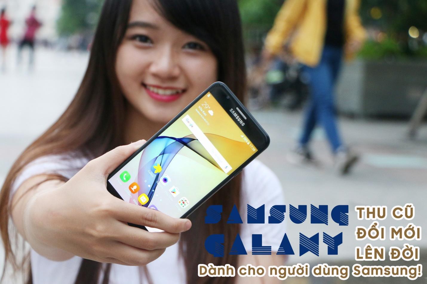 """FPT Shop """"Thu cũ – đổi mới"""" lên đời Galaxy A5 / A7 2016, A9 Pro, J7 Prime"""