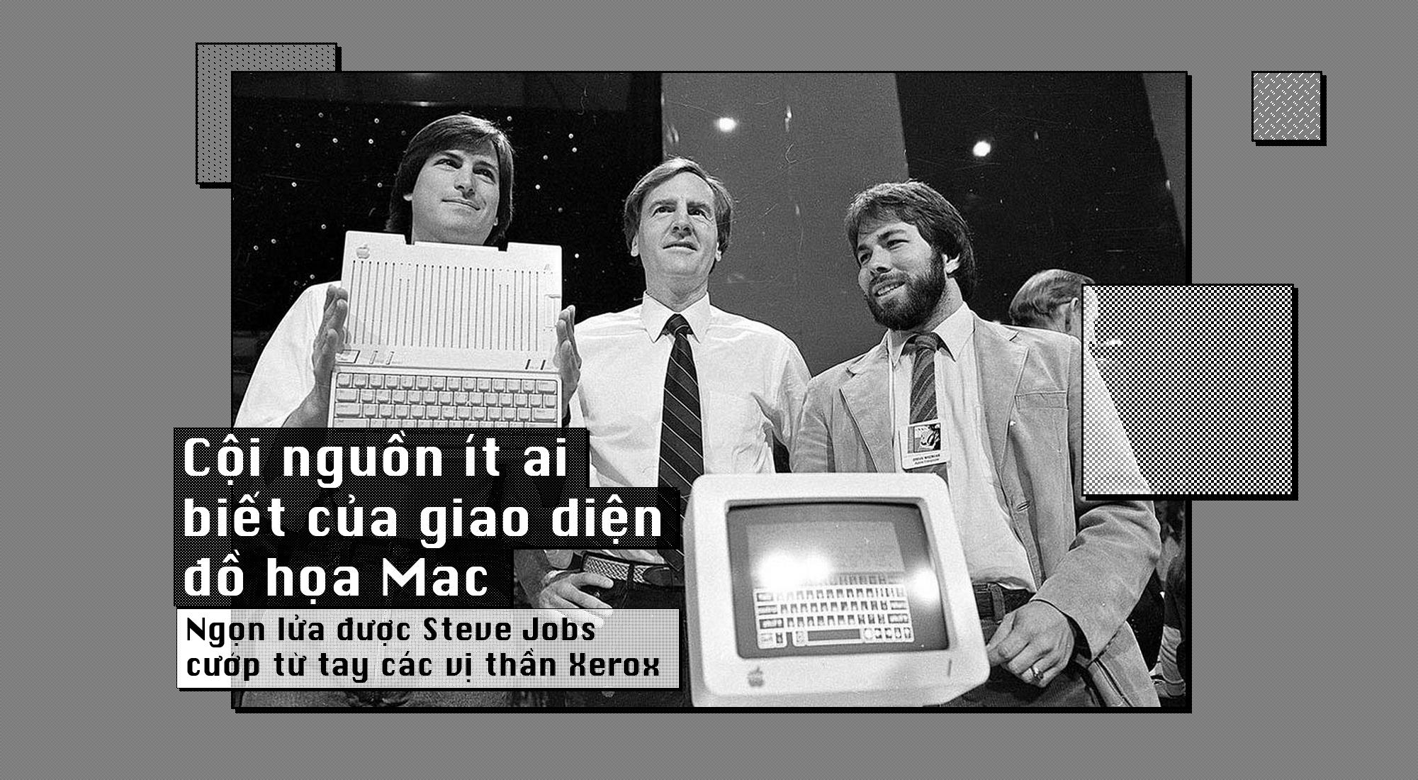 Cội nguồn ít ai biết của giao diện đồ họa Mac