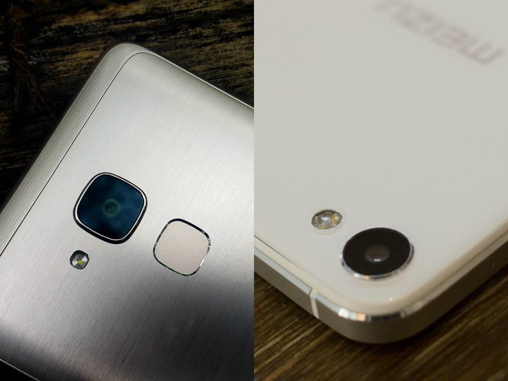 So sánh ảnh chụp từ Huawei GR5 Mini và Meizu U20