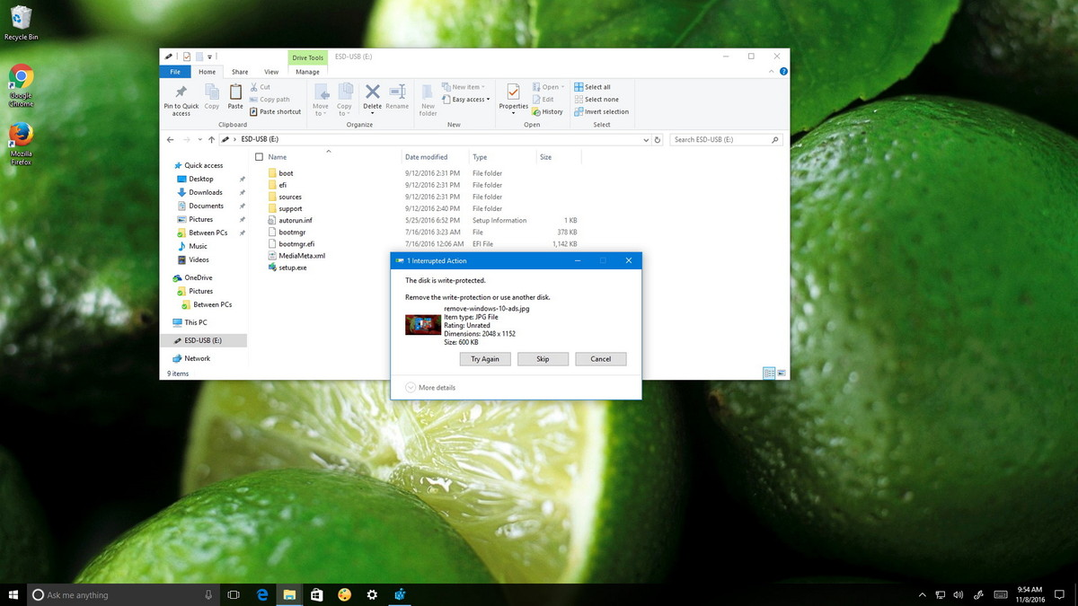 Hướng dẫn kích hoạt tính năng bảo vệ thiết bị USB trên Windows 10