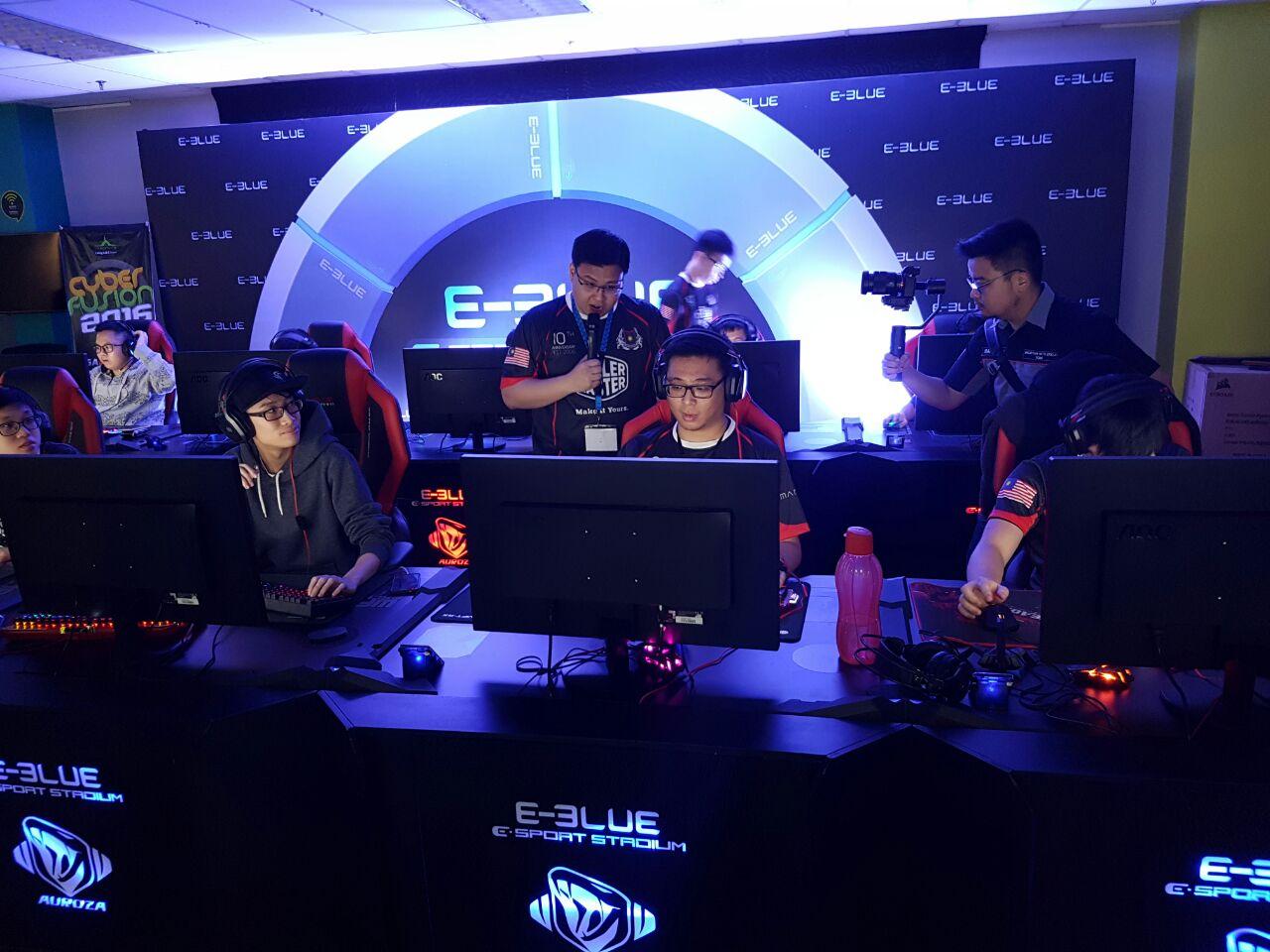 E-BLUE tại CyberFusion 2016 - sự kiện LAN lớn nhất ĐNÁ