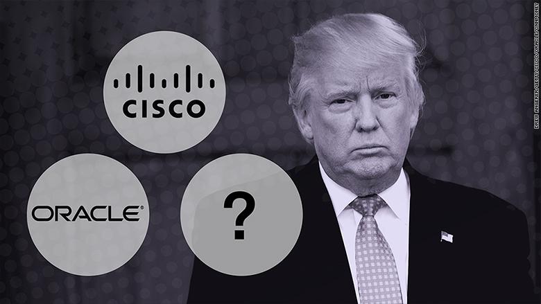Tỷ phú Donald Trump gặp lãnh đạo cấp cao Apple, Google, Facebook, Microsoft