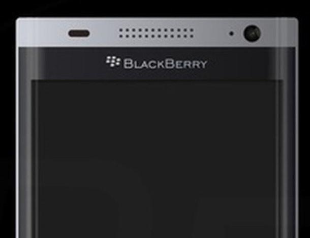 Rò rỉ hình ảnh render Black Berry Mercury DTEK70