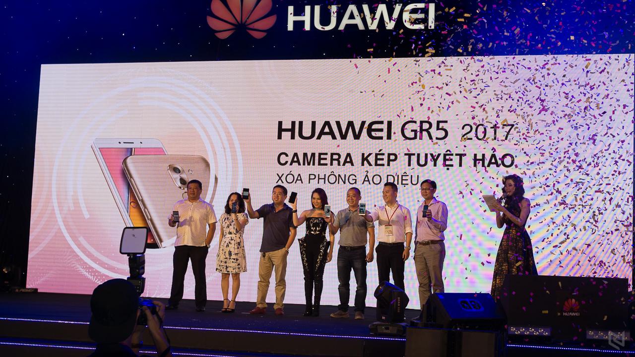 Huawei GR5 2017 camera kép chính thức ra mắt, giá 5,99 triệu đồng