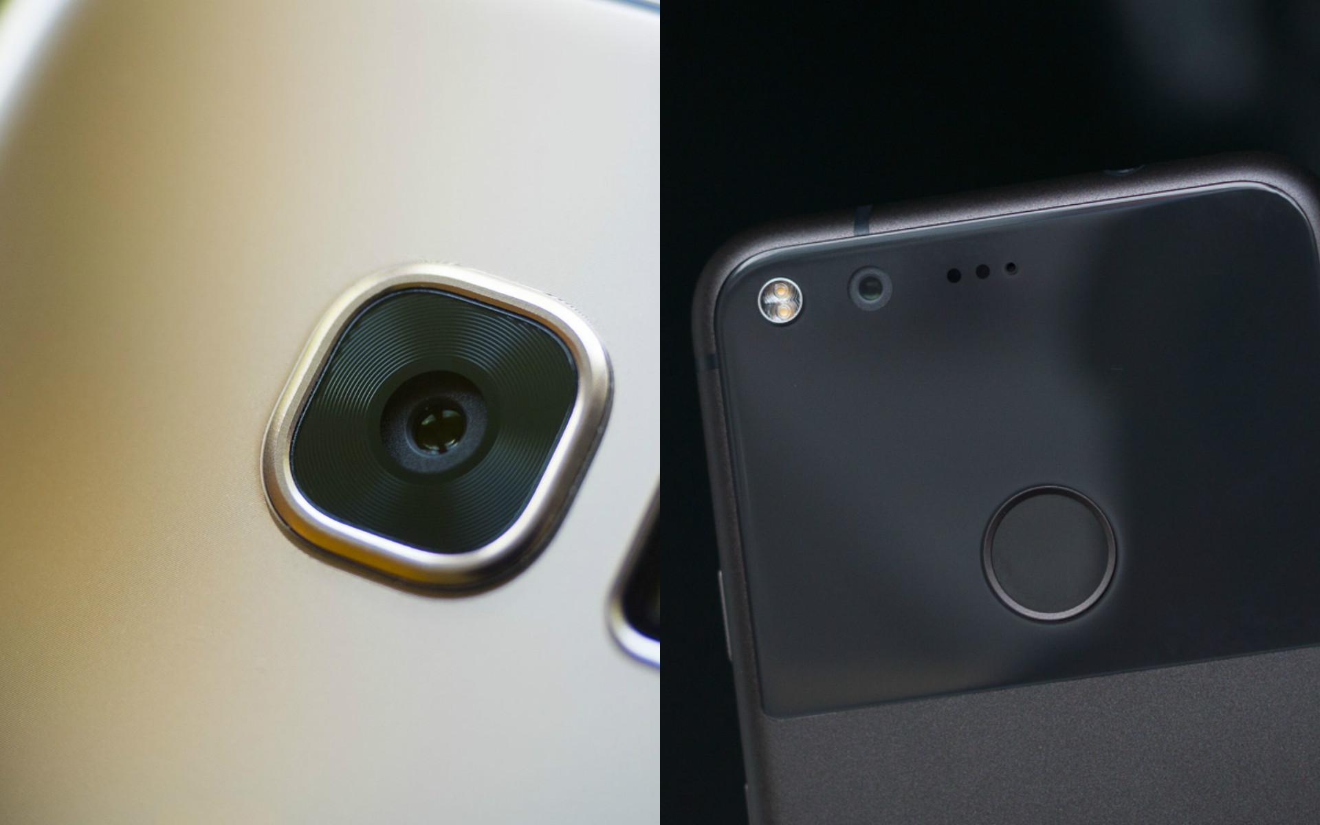 Google Pixel đọ camera với Samsung Galaxy S7
