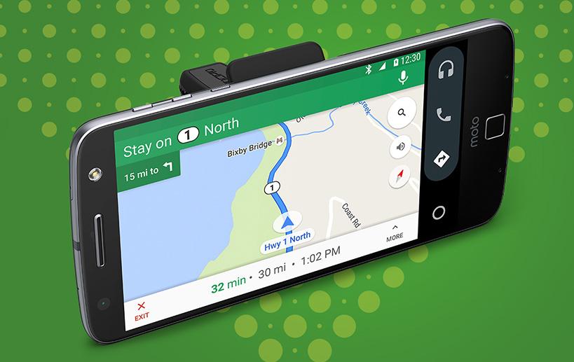 Motorola tung hai Moto Mod mới: Incipio Vehicle Dock và Mophie Juice Pack