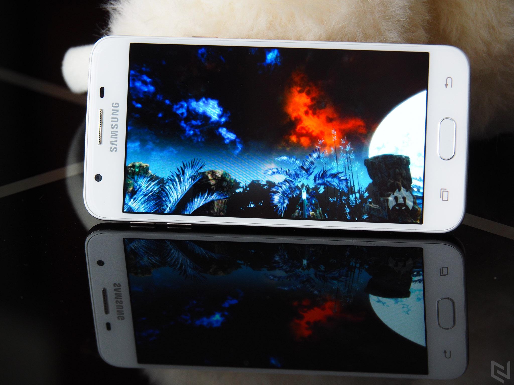 Đánh giá nhanh Samsung Galaxy J5 Prime