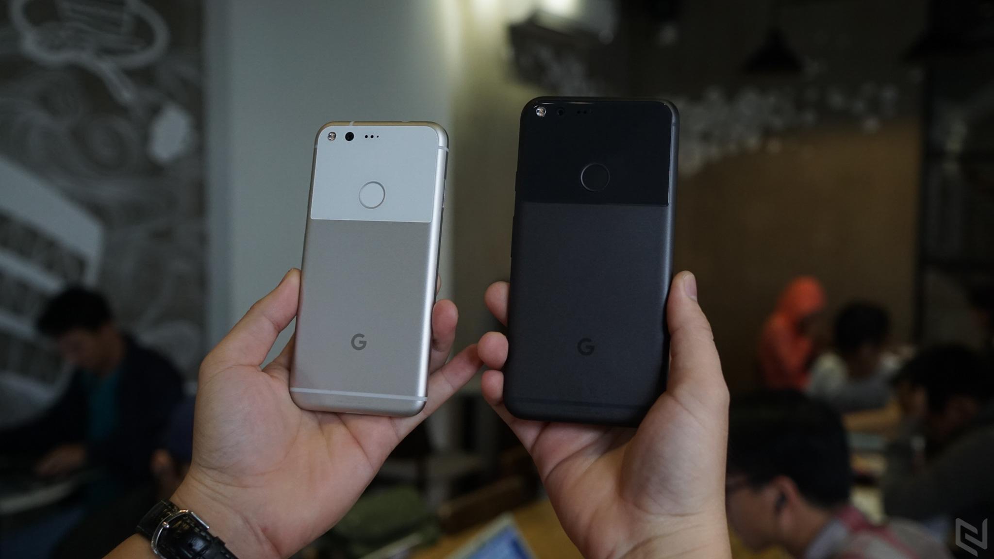 Trên tay Google Pixel XL và so sánh với Pixel