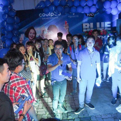 Coolpad ra mắt Fancy 3 cùng với đêm nhạc hoành tráng