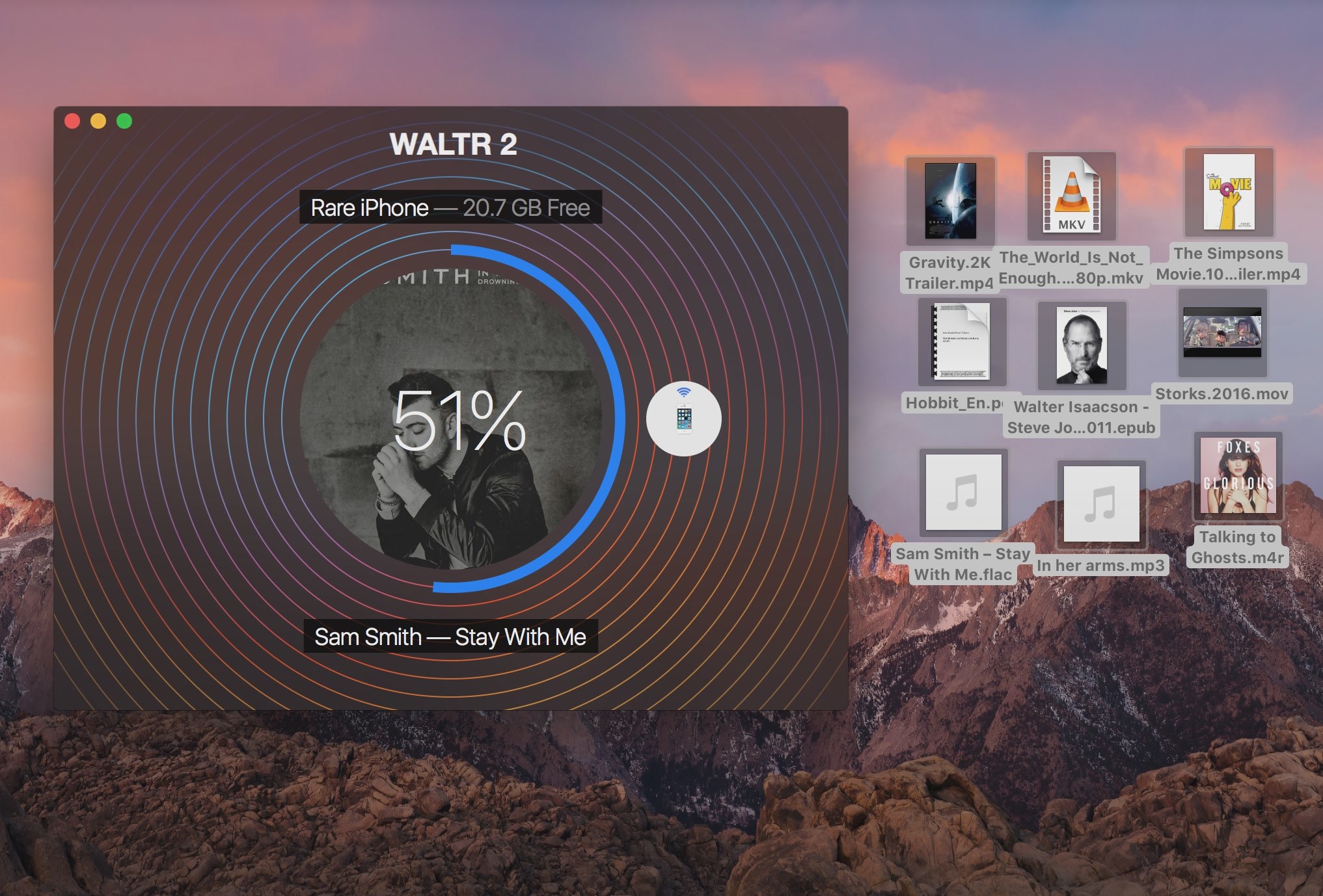 WALTR-2-for-macOS-transfer-in-progress-Mac-screesnhot-001