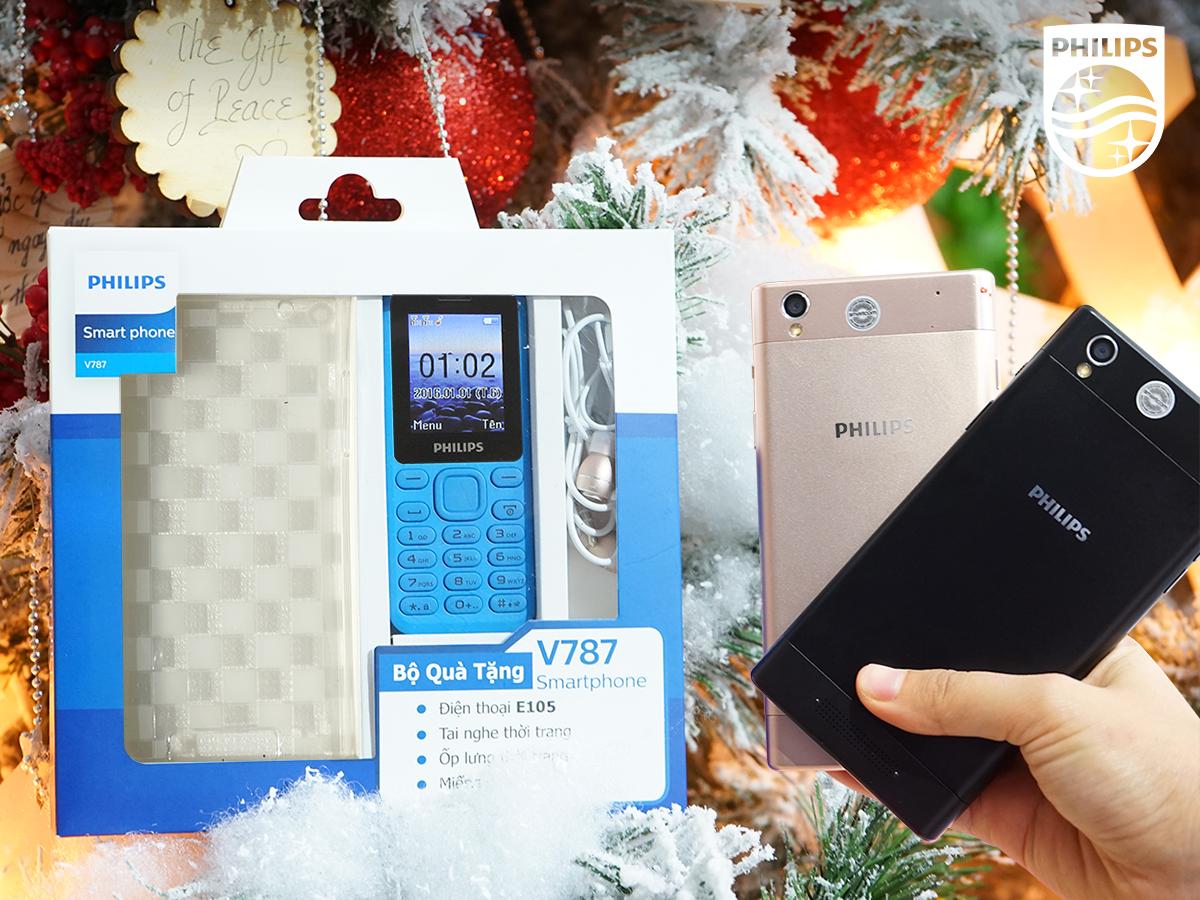 Philips V787 giảm giá còn 3,99 triệu, kèm combo quà tặng hơn 1 triệu