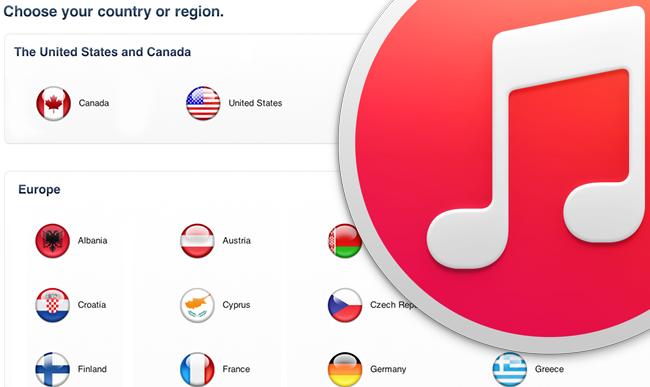 Hướng dẫn thay đổi vùng Quốc Gia tài khoản iTunes