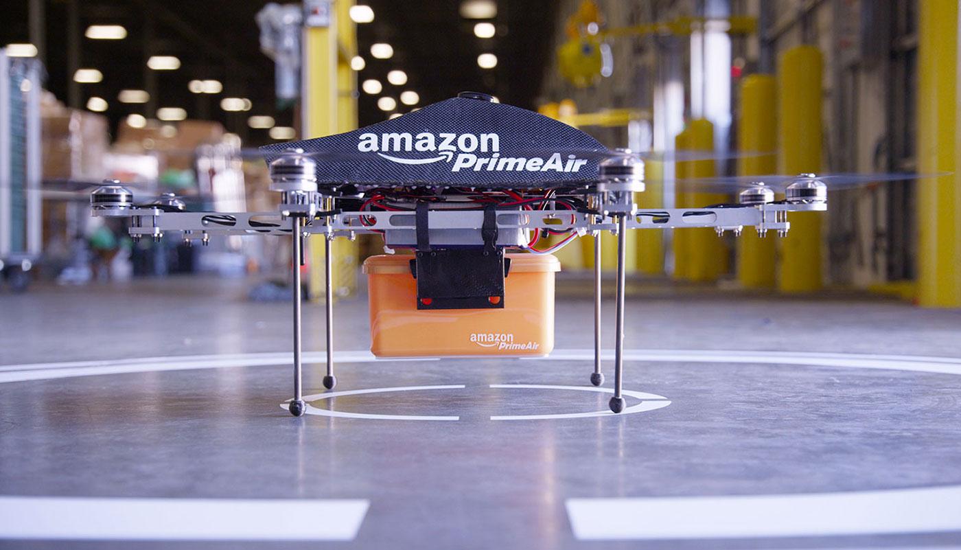 Amazon tiết lộ bằng sáng chế kho hàng trên không đầu tiên trên thế giới