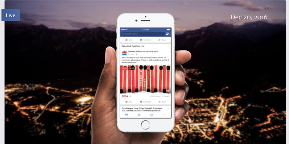 Facebook sắp ra thêm tính năng mới, Live Stream không có hình, chỉ có tiếng