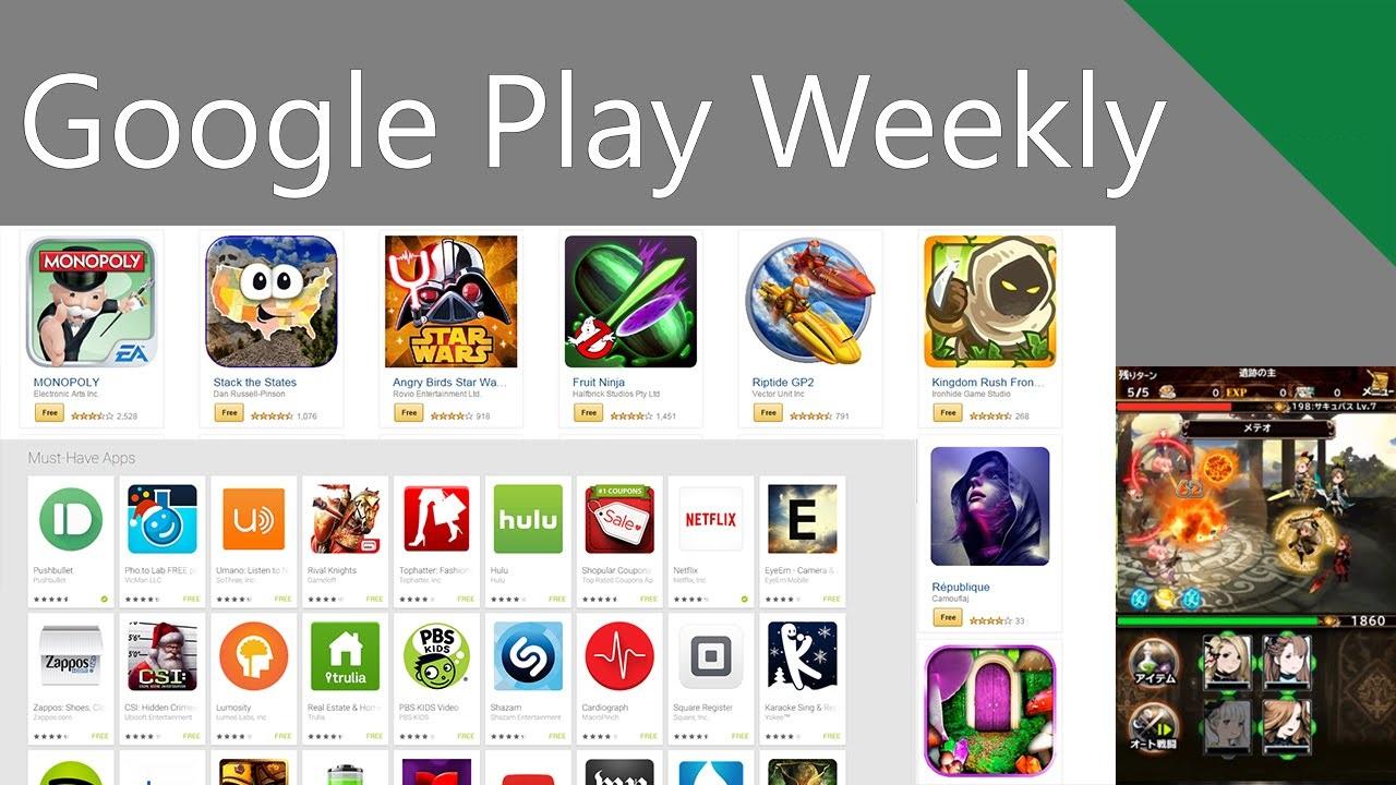 Tổng hợp game, app mới của tuần qua