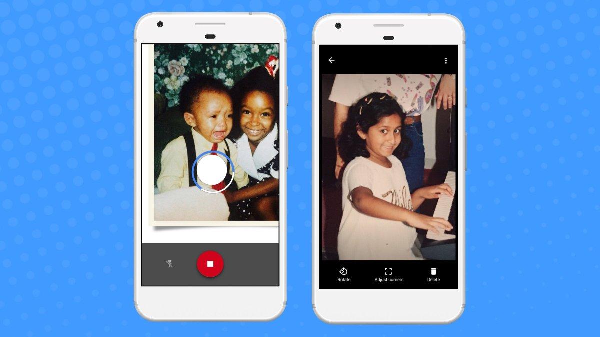 Google cho tải miễn phí ứng dụng scan ảnh - PhotoScan