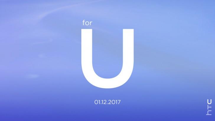 HTC gửi thư mời sự kiện ra mắt sản phẩm mới vào ngày 12/1/2017
