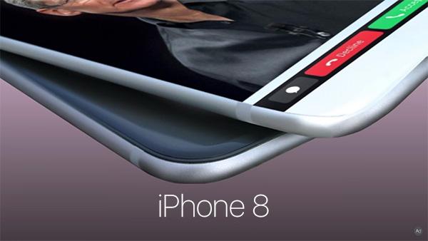 Ý tưởng iPhone 8 với Touch Bar giống MacBook Pro