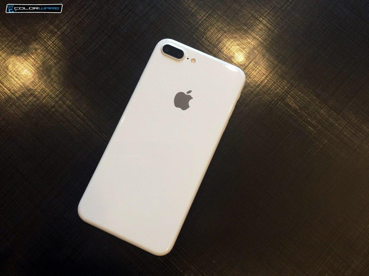 Lộ diện iPhone 7 phiên bản màu trắng Jet White