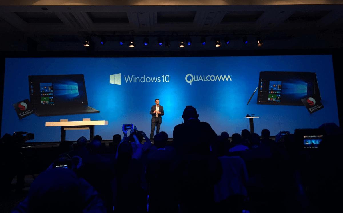 Microsoft và Qualcomm trình diễn Windows 10 PC chạy trên Snapdragon