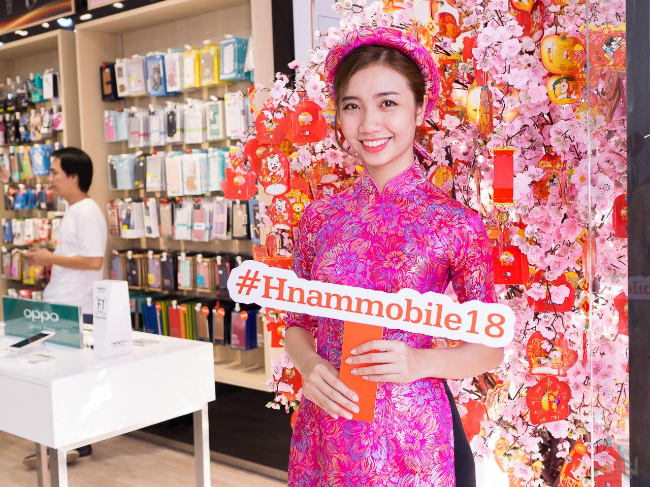 Hnam Mobile 18 tưng bừng khai trương, đổi nhận diện thương hiệu