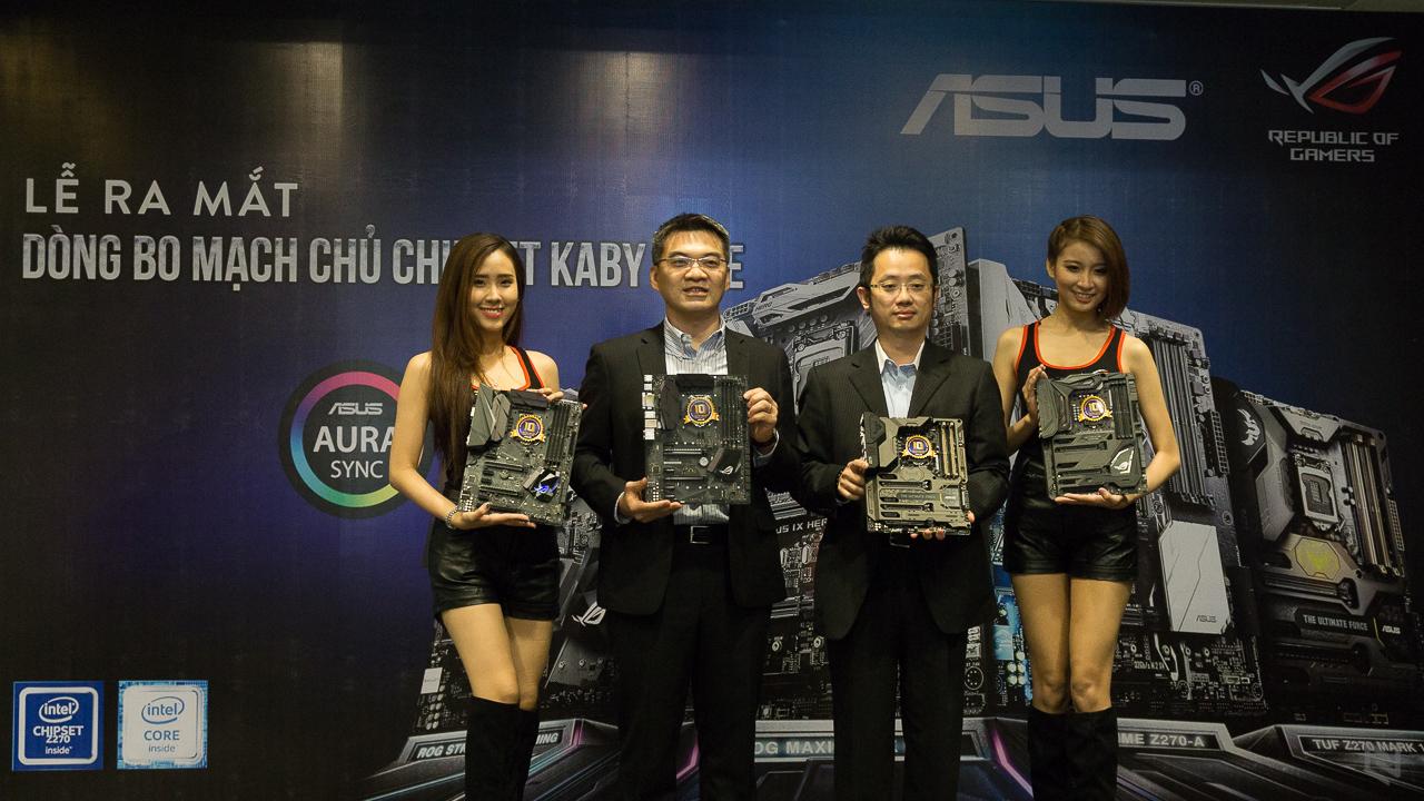 ASUS ra mắt dòng mainboard hỗ trợ tối ưu Intel Kaby Lake